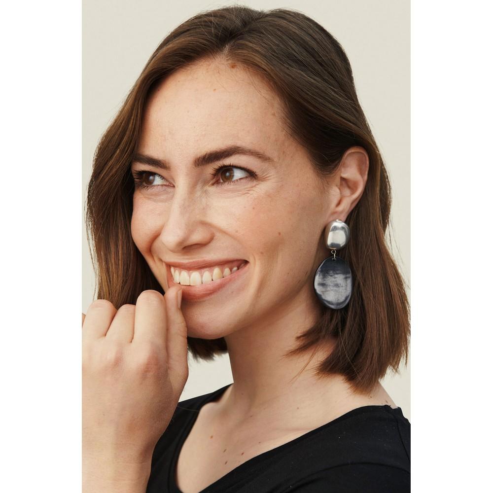 Masai Clothing Revena Earrings Black
