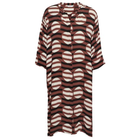 Masai Clothing Nimes Tunic Dress  - Brown