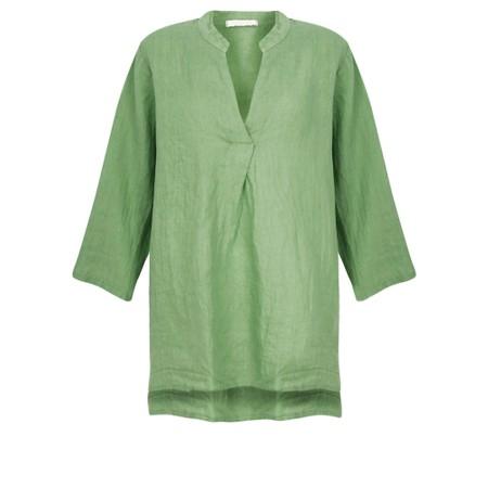Amazing Woman Lydia Linen Top - Green