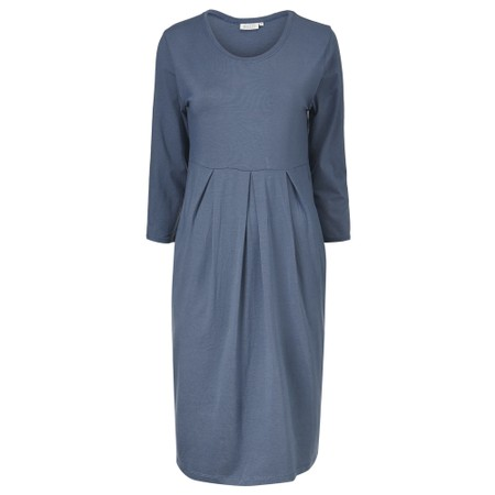 Masai Clothing Noma Plain Dress - Blue