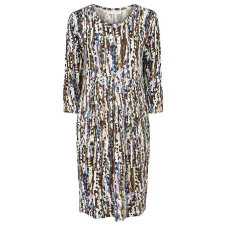 Masai Clothing Noma Printed Dress - Blue