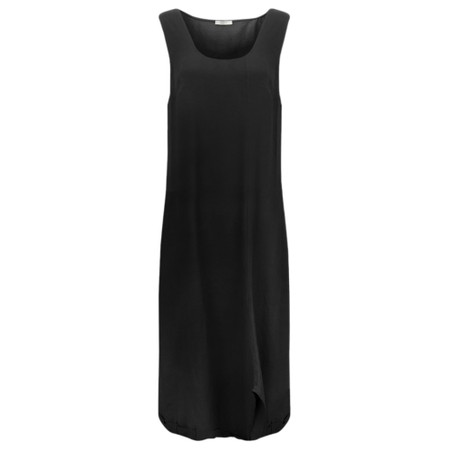 Crea Concept Knit layered Dress - Black