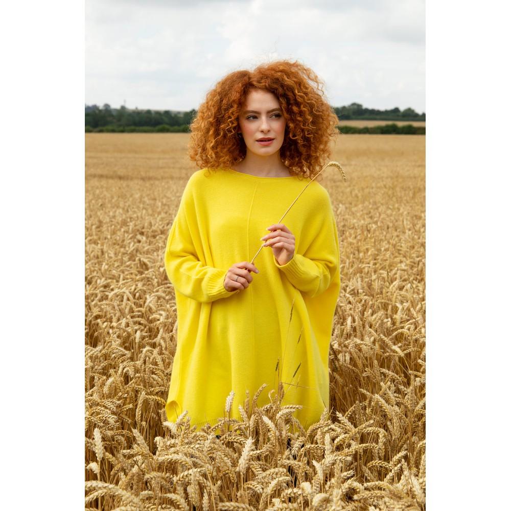 Amazing Woman Cassi X Round Neck Front Seam Knit Limon