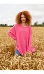 Amazing Woman Azelea Cassi X Round Neck Front Seam Knit