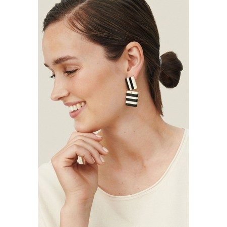 Masai Clothing Renitta Earrings - Black
