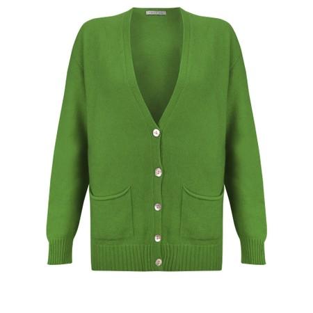 Amazing Woman Pookie Boxy Cardi - Green