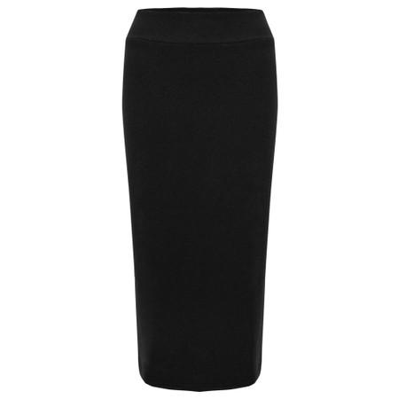 Mama B Lilla M U Plain Fleece Skirt - Black