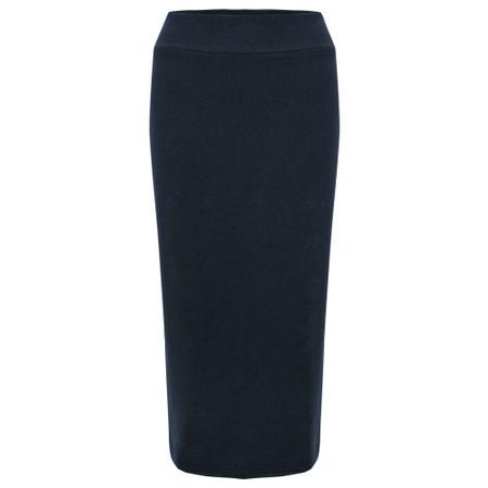 Mama B Lilla M U Plain Fleece Skirt - Blue