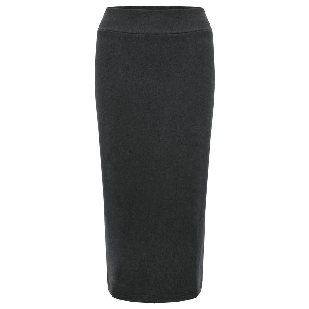 Mama B Lilla M U Plain Fleece Skirt Anthracite