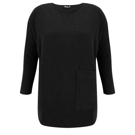 Mama B Pane U Plain Fleece Jumper - Black