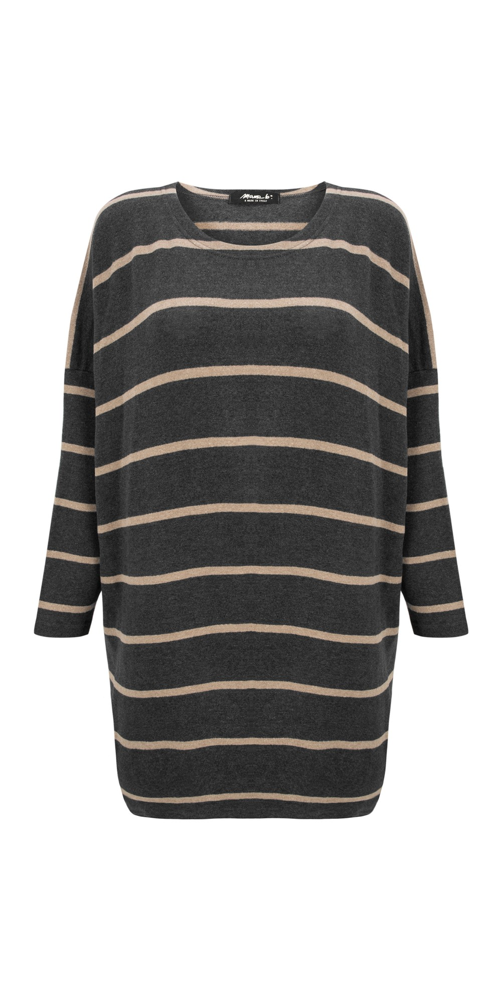 Grappa RG Wide Stripe Fleece Jumper main image