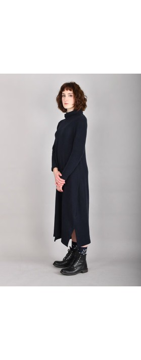 Mama B Tiramisu U Plain Fleece Dress Blu