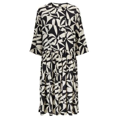 Masai Clothing Naya Monochrome Dress - Black