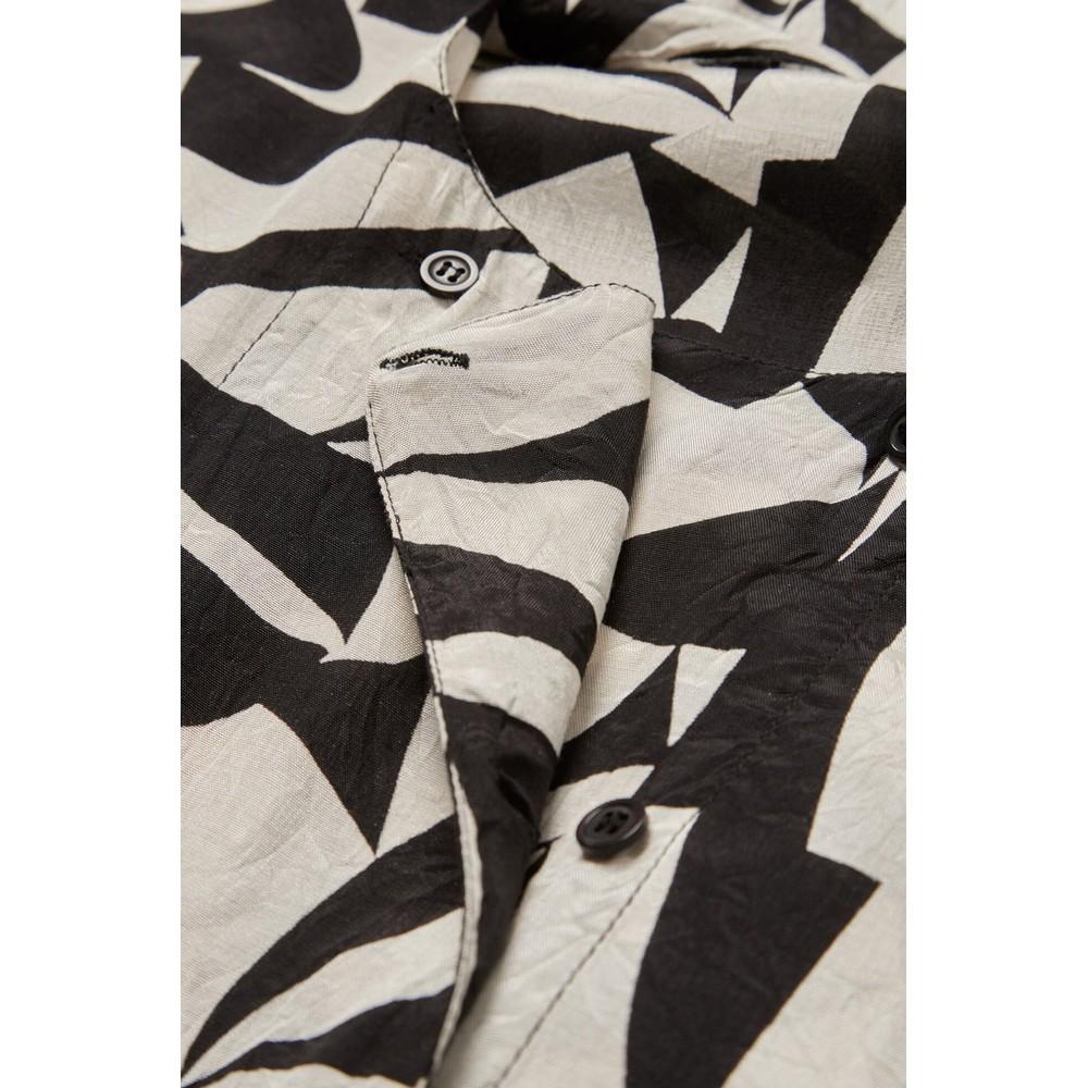 Masai Clothing Naya Monochrome Dress Black