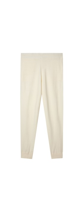 Chalk Lucy Supersoft Knit Lounge Pant Cream