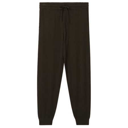 Chalk Lucy Supersoft Knit Lounge Pant - Green
