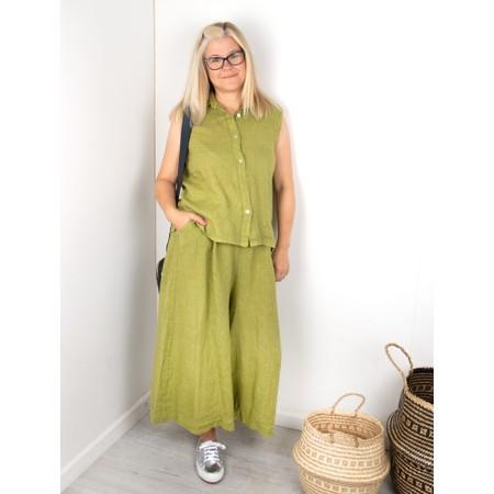 Amazing Woman Kira Culotte - Green