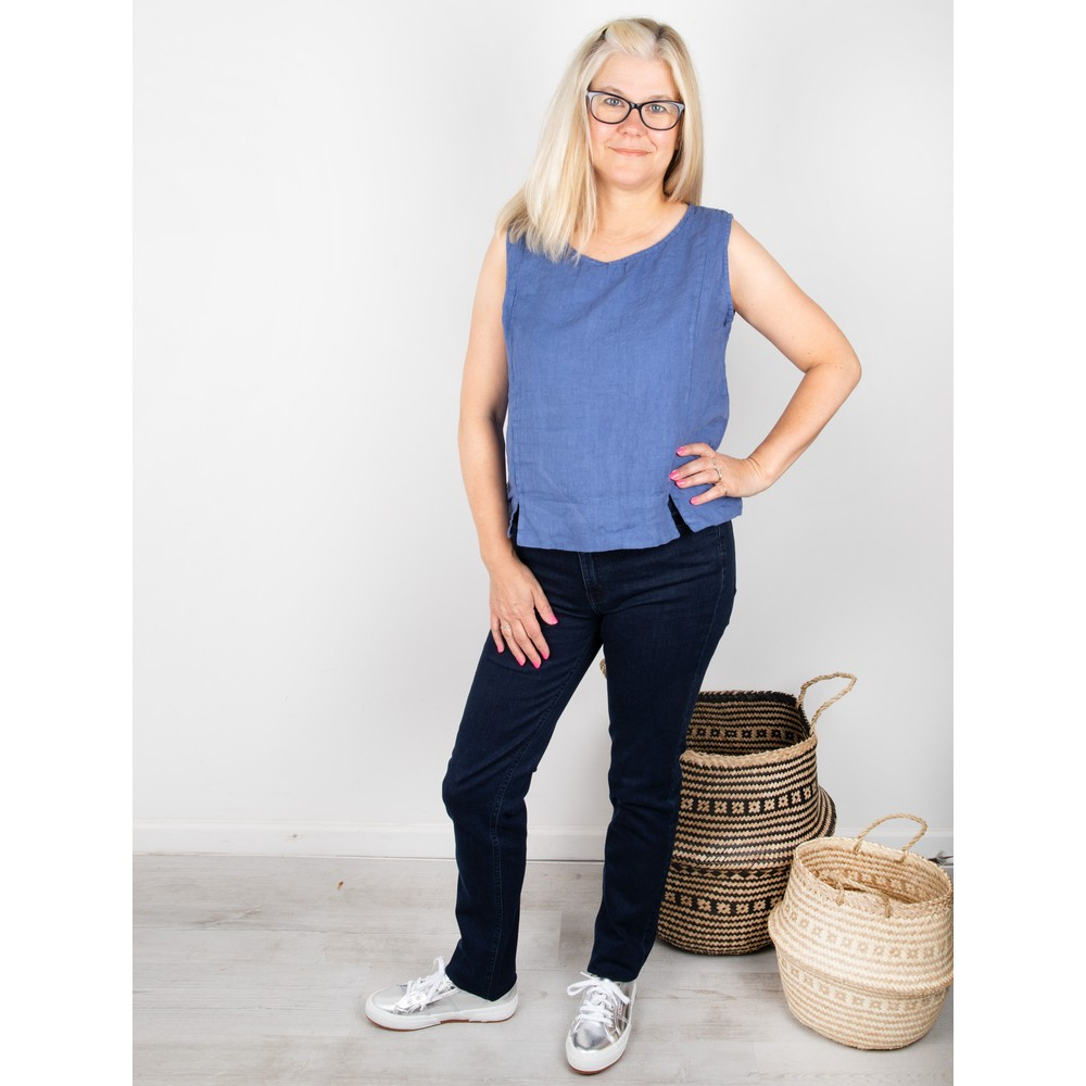 Amazing Woman Lucie Top Jeans Blue