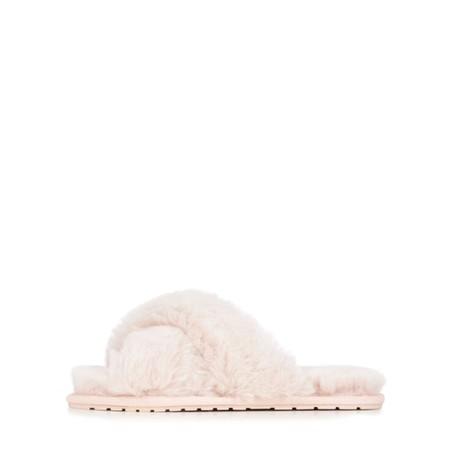 EMU Australia Mayberry Frost Sheepskin Slider Slipper - Pink
