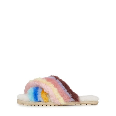 EMU Australia Mayberry Rainbow Sheepskin Slipper - Multicoloured