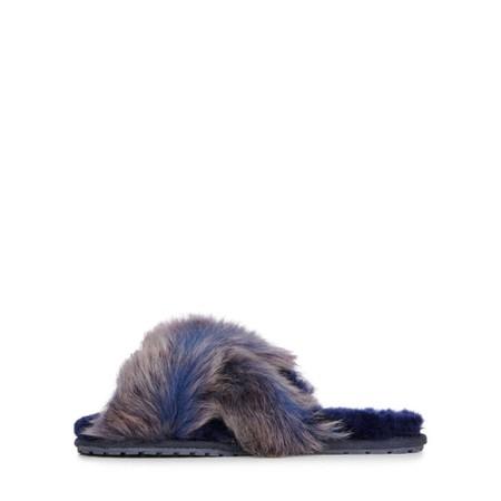 EMU Australia Mayberry Lava Sheepskin Slipper  - Blue