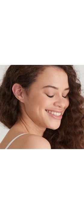 Ania Haie Knot Ear Cuff Silver