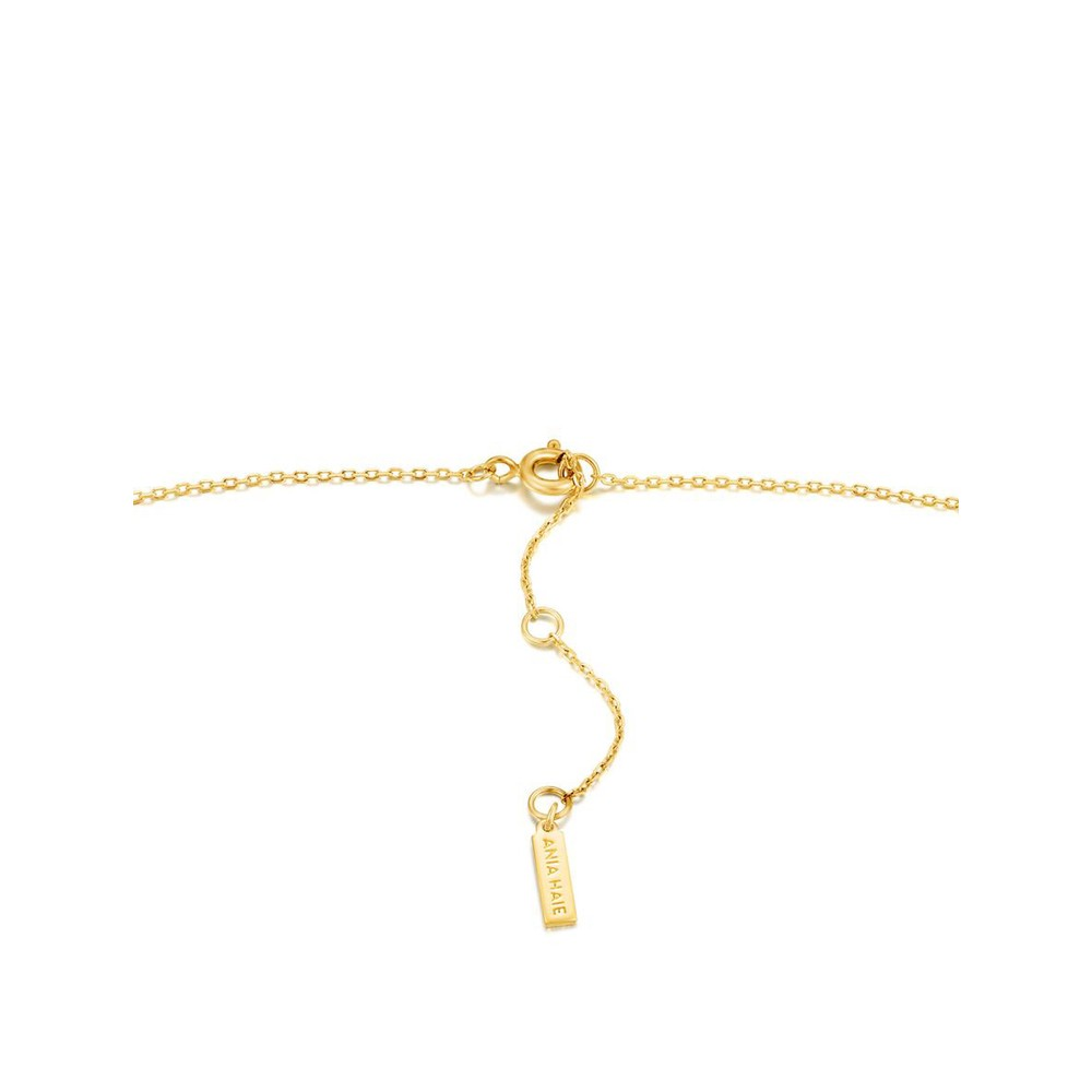 Ania Haie Knot Pendant Necklace Gold