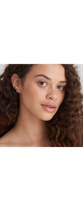 Ania Haie Knot Stud Earring Silver