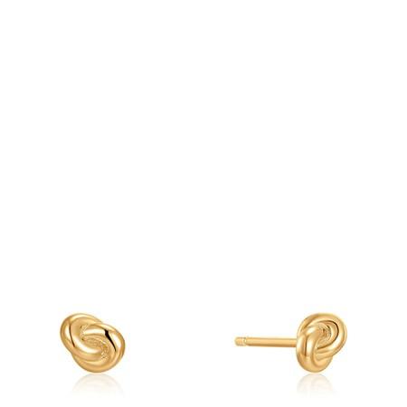 Ania Haie Knot Stud Earring - Gold