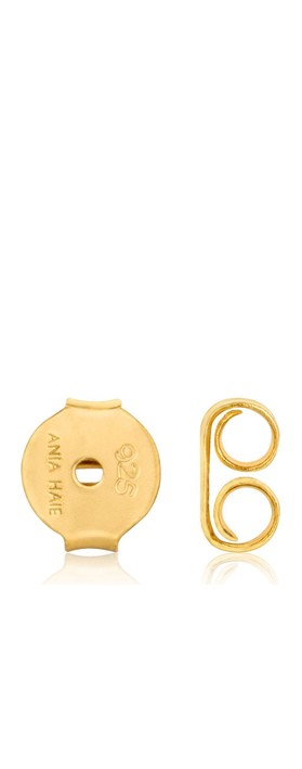 Ania Haie Knot Stud Earring Gold