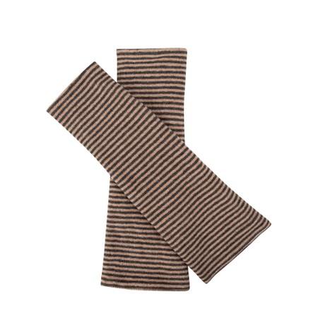 Mama B Cotto M M Narrow Stripe Glove - Grey
