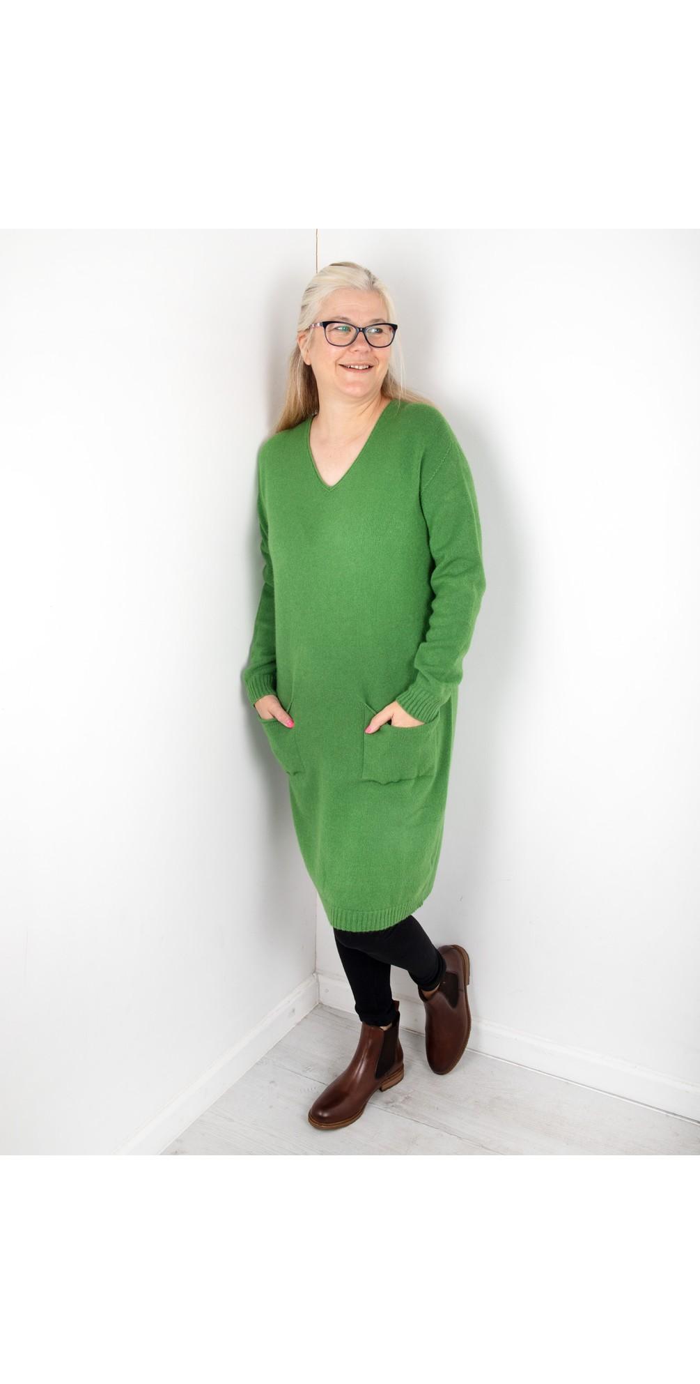 Pollie V Neck Dress main image