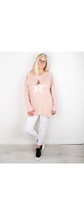 Chalk Robyn Star Top Pink / Rose Gold