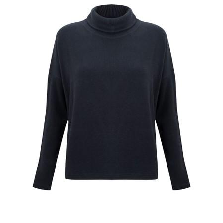 Mama B Vigo Tcost Fleece Rib Jumper - Blue