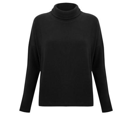 Mama B Vigo Tcost Fleece Rib Jumper - Black