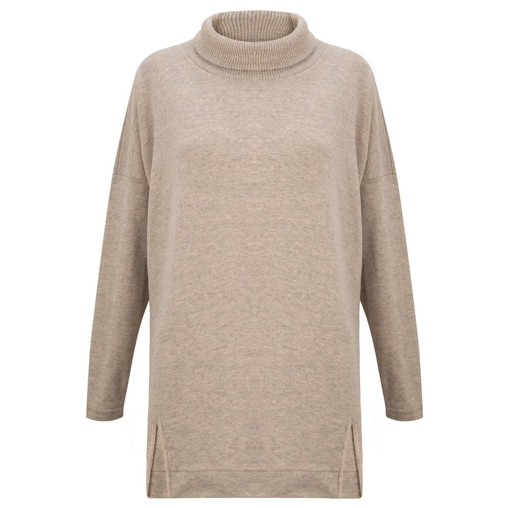 Mama B Zeppola Tcost Fleece Rib Jumper Marmo