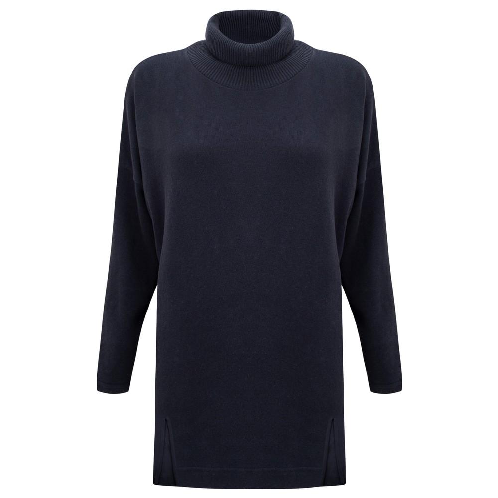 Mama B Zeppola Tcost Fleece Rib Jumper Blu