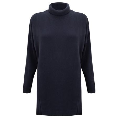 Mama B Zeppola Tcost Fleece Rib Jumper - Blue