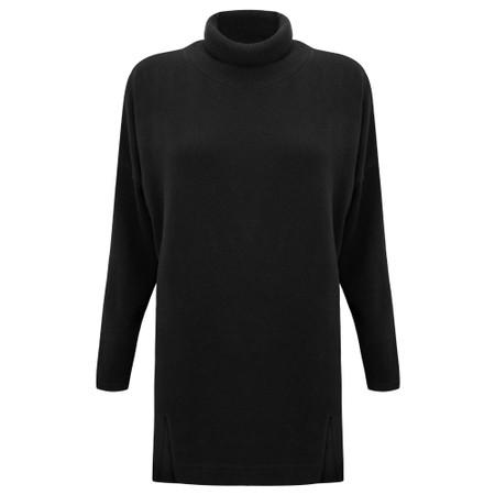 Mama B Zeppola Tcost Fleece Rib Jumper - Black