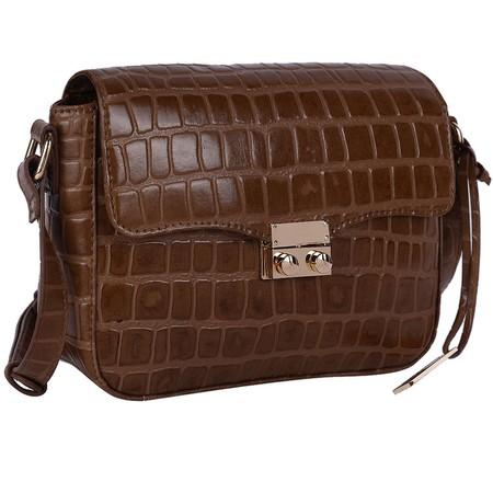 Ashwood Lansdowne Cross Body Leather Bag - Brown