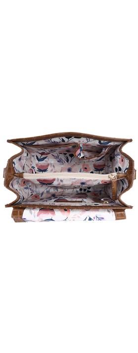 Ashwood Charlton Leather Handbag Tan