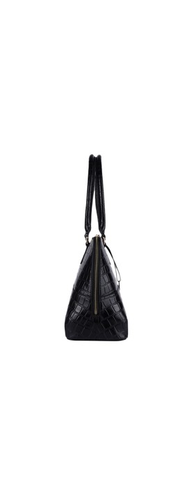 Ashwood Montpelier Leather Bag Black