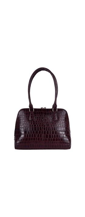 Ashwood Montpelier Leather Bag Bordo