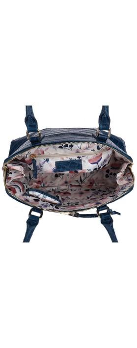 Ashwood Montpelier Leather Bag Teal