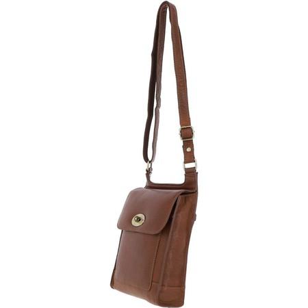 Ashwood Moreton Leather Messenger Bag - Brown