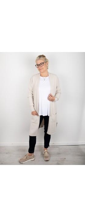 Amazing Woman Purdie Long Cardi Ivory