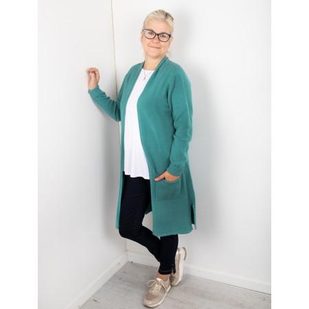 Amazing Woman Purdie Long Cardi - Blue
