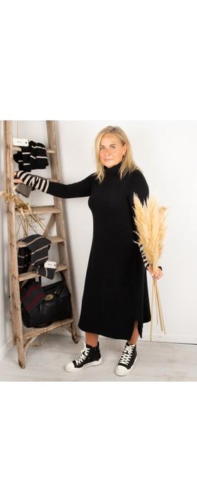 Mama B Tiramisu U Plain Fleece Dress Nero
