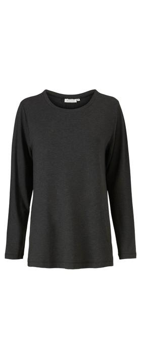 Masai Clothing Berta Top Dark Grey Mel