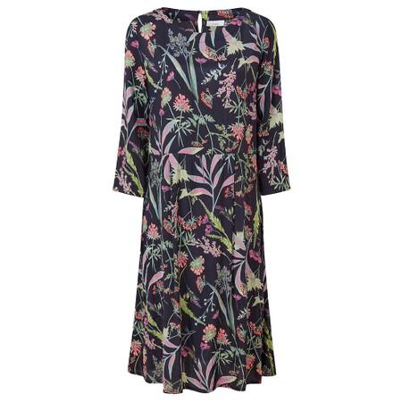 Adini Bryony Dress Botanical Print - Blue